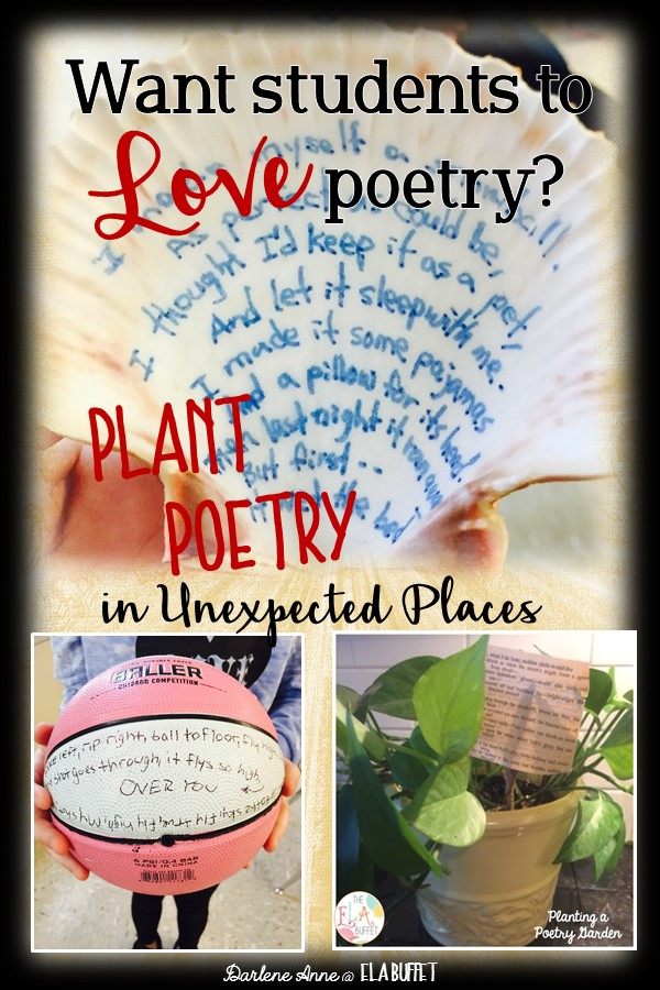 POETRY | NATIONAL POETRY MONTH | Want a fun and easy way to celebrate poetry with your students? Try these ideas!