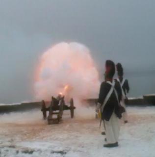 Historische Kanonen am Ammersee