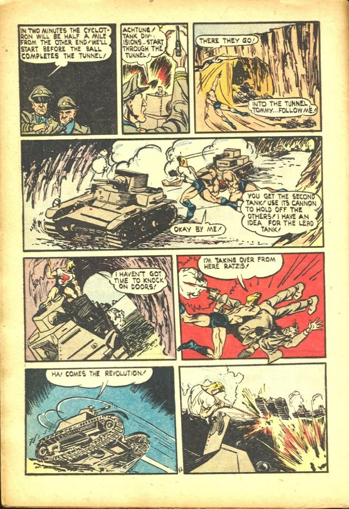 Read online Amazing Man Comics comic -  Issue #25 - 14