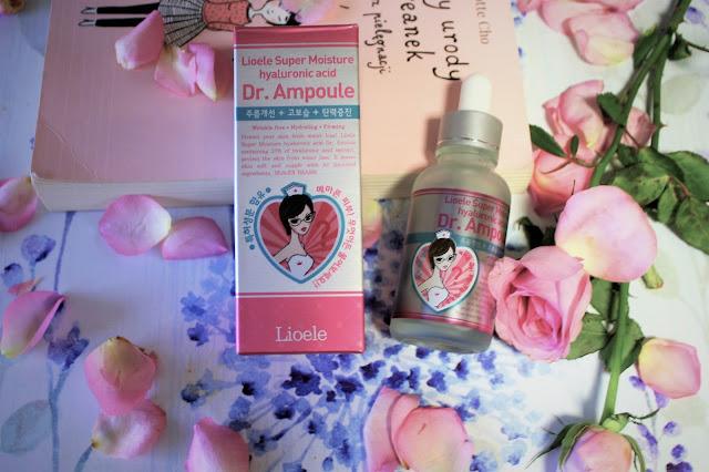 Nawilżające serum od doktor Ampułki (Lioele)