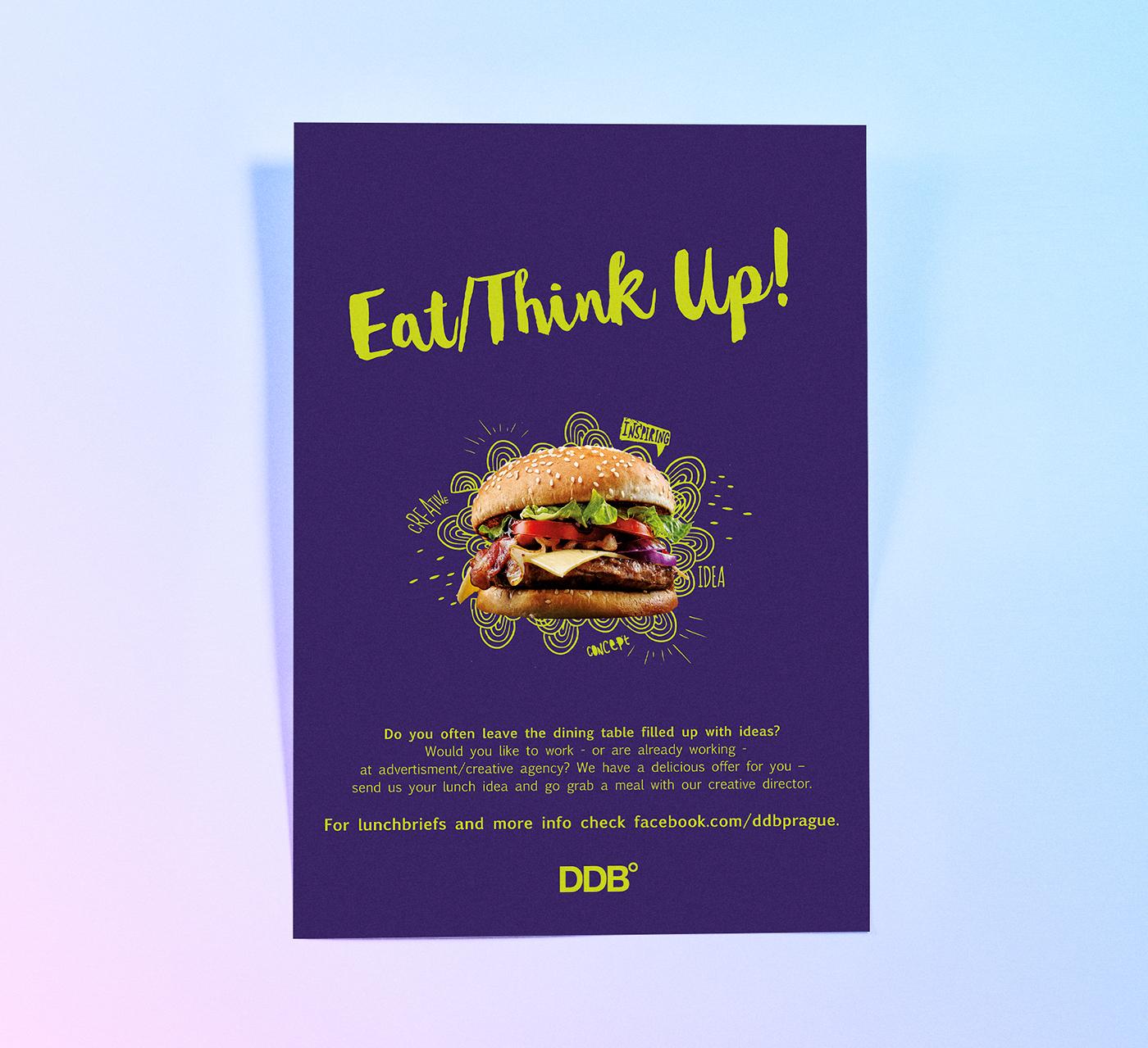 poster quảng cáo đồ ăn