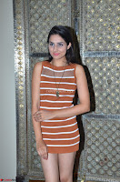 Actress Nikhita in Spicy Small Sleeveless Dress ~  Exclusive 036.JPG