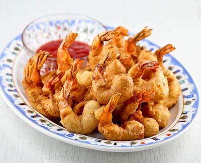 Golden Shrimp Puffs