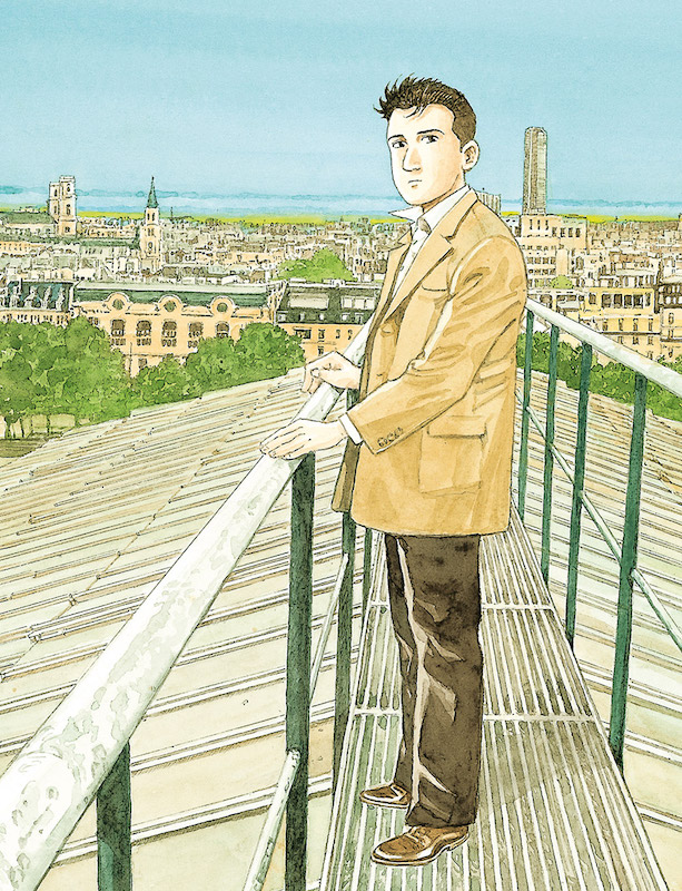Guardians of the Louvre, by  Jiro Taniguchi.