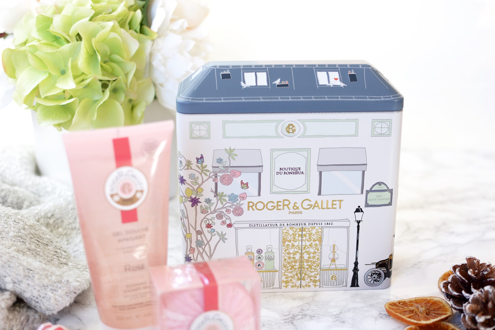 Roger & Gallet Trio Rose Set