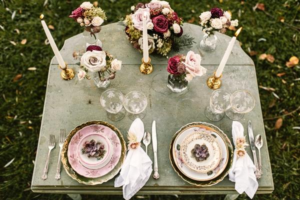 ideas para una pequeña celebración de boda en invierno chic deco