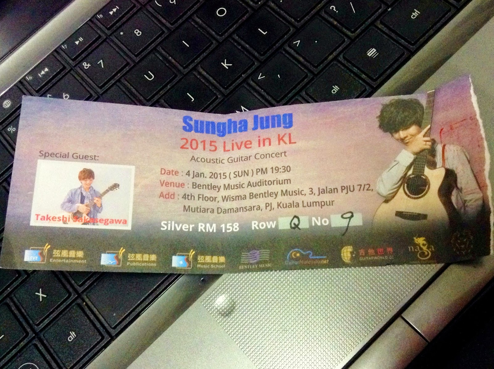 HELLO, WORLD: Sungha Jung live in KL 2015