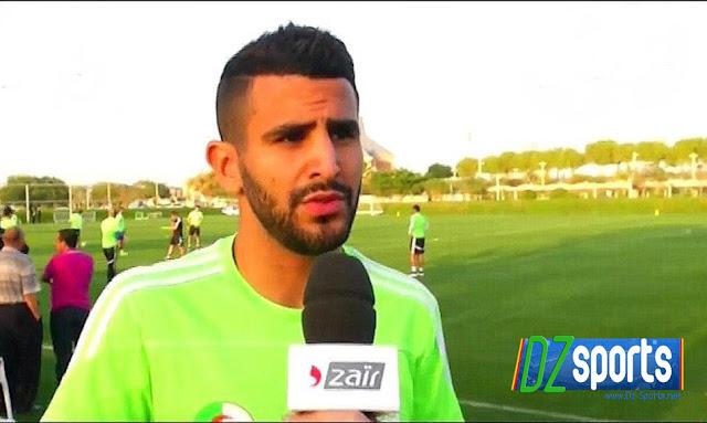 les réactions de Riyad Mahrez et Carl Medjani après le match