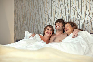 What is the relationship between threesome?