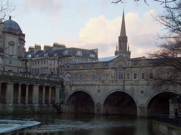 bath avon pulteney bridge pont