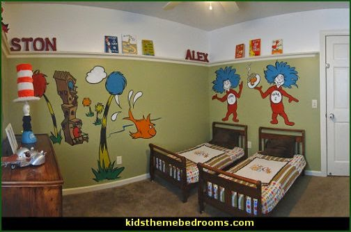 Dr. Seuss Room Decor - dr seuss Wall Decals