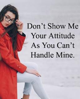 Attitude Status for girls in hindi 2021