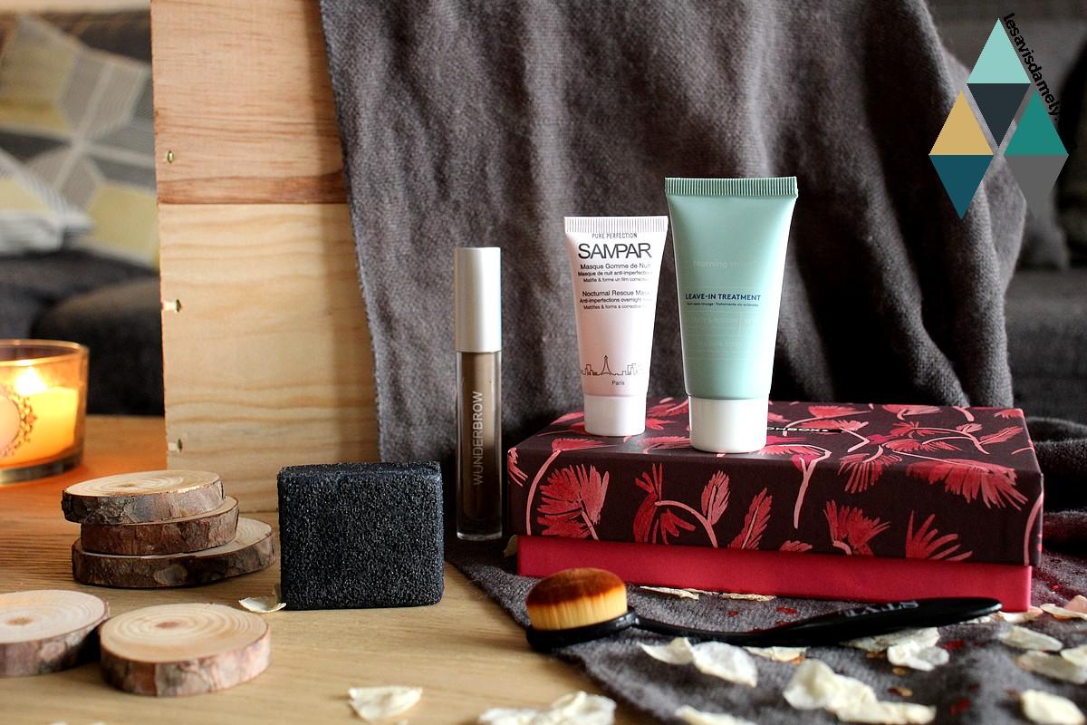 test et avis beauté box blog soin et maquillage