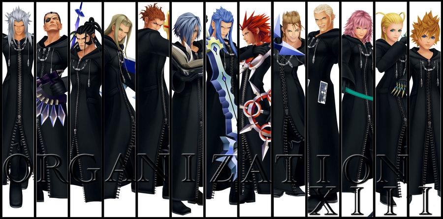 ve gathered some information on Organization XIII Kingdom Hearts Organization 13 Wallpaper