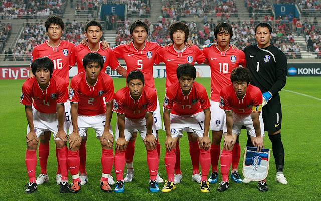 Korea Republic Team Squad fifa 2018