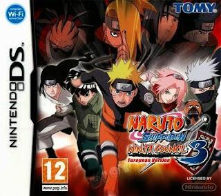 Naruto Shippuden: Ninja Council 3, NDS, Español, Mega, Mediafire