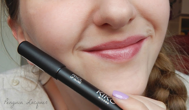 kiko pencil lip gloss 16 with pencil