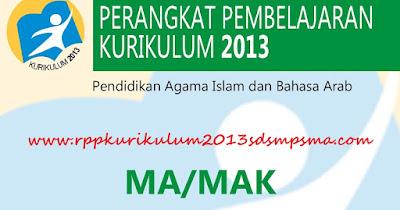 Perangkat Pembelajaran Alquran Hadits Madrasah Aliyah Kurikulum 2013