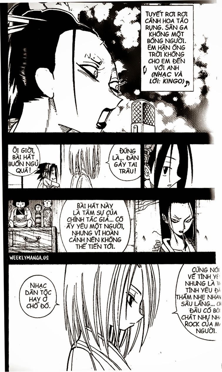 Shaman King [Vua pháp thuật] chap 170 trang 10