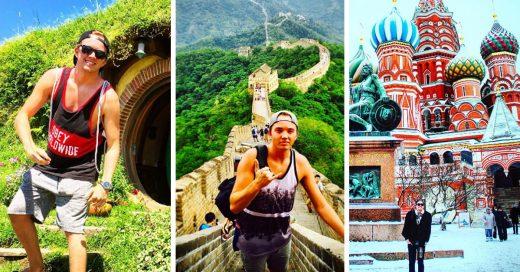 Este joven viajero ha recorrido 50 países en solo dos años