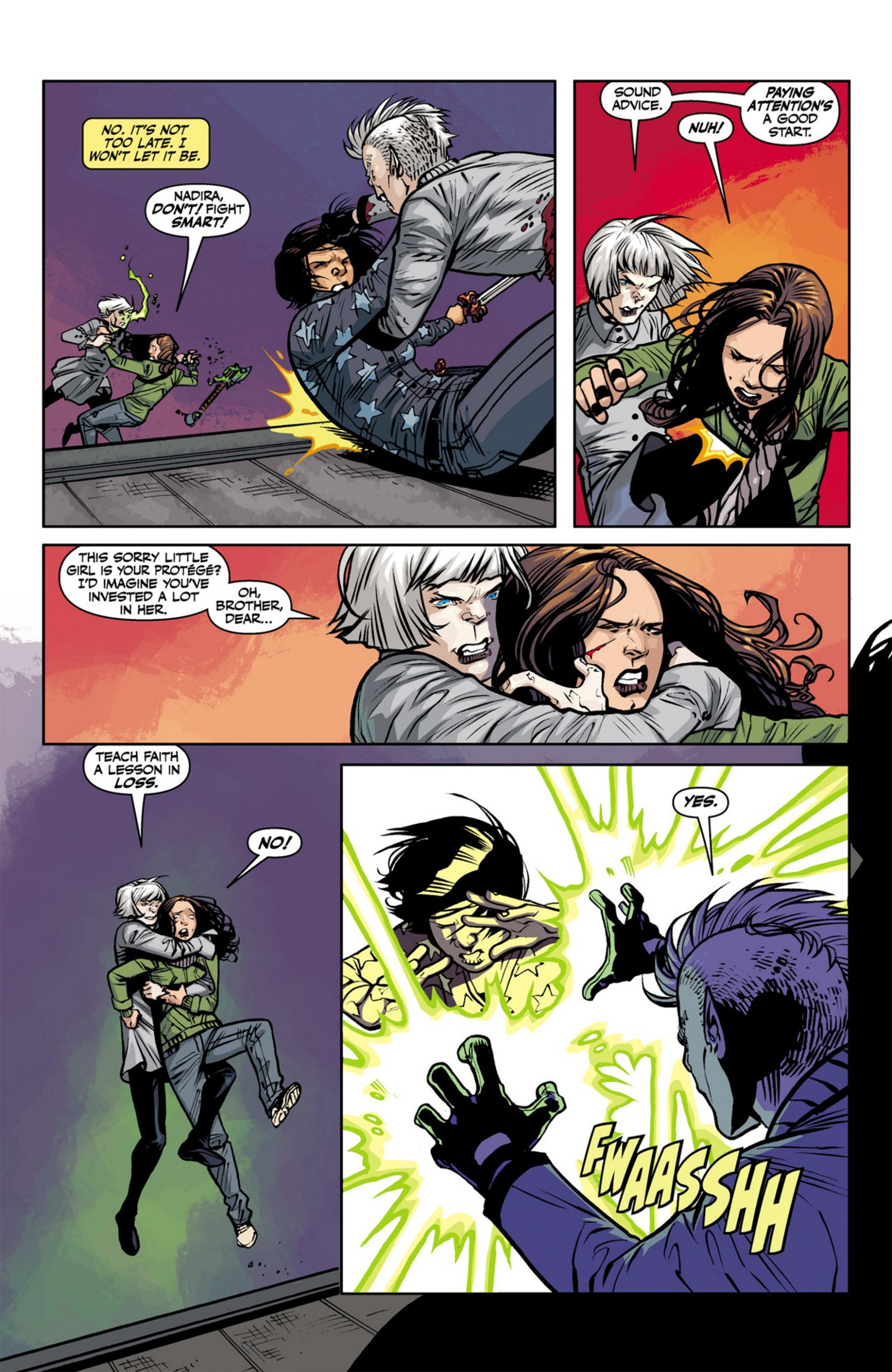 Read online Angel and Faith comic -  Issue #23 - 14