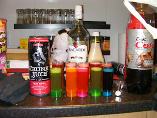 crunk juce can and shot glasses crunk juice