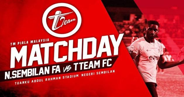 Live Streaming Negeri Sembilan vs T-Team 7.7.2017 Piala Malaysia