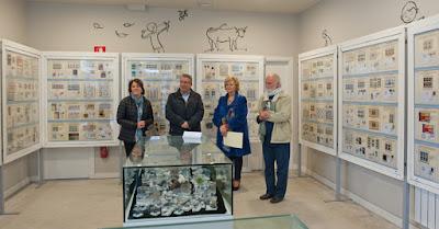 Inauguración de la exposición de Grucomi en Quirós