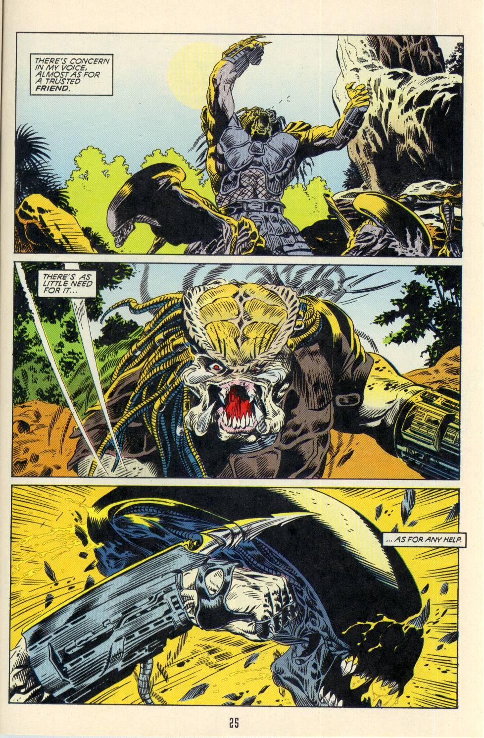 Read online Aliens/Predator: The Deadliest of the Species comic -  Issue #2 - 26
