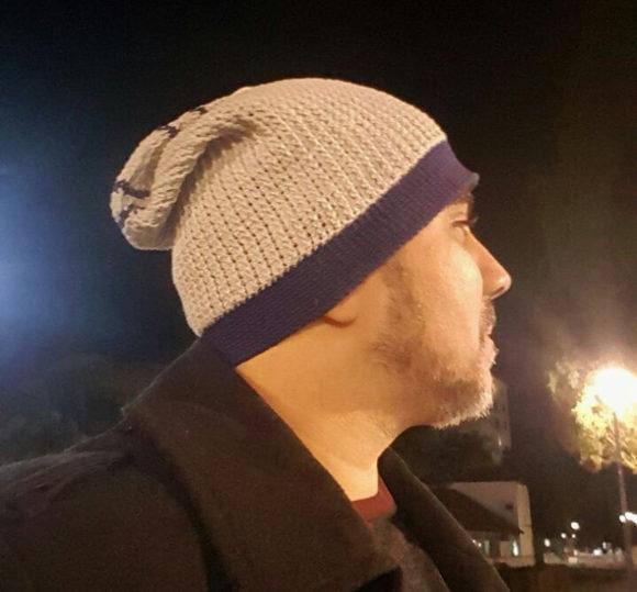 Gorro (Touca) Beanie Masculino de Crochê que fiz para um amigo ... e6bd8f523c8