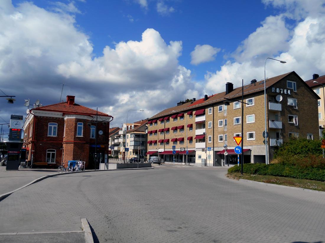 Palazzi alla Stazione di Ronneby