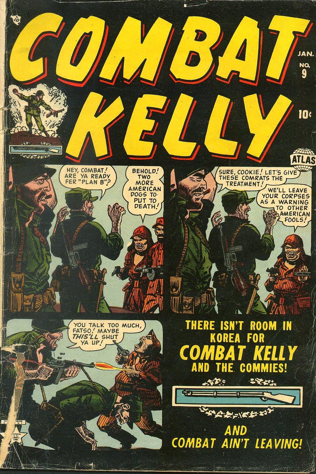 Combat Kelly (1951) 9 Page 1