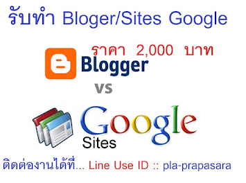 รับทำ Bloger/Sites Google