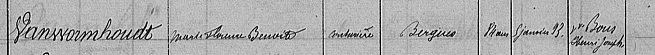 Table des successions de Bergues 1893