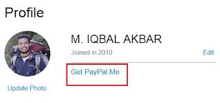 Get PayPal.Me