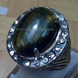 Cincin Batu Black Tiger Eye - ZP 817