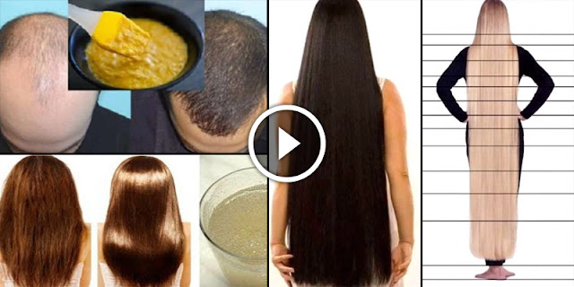 See Natural 5 Tips To Grow Hair In 1 Week!