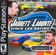 Jarrett & Labonte Stock Car Racing - PS1 - ISOs Download