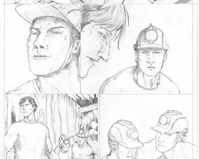 Pencil Sketch Comic
