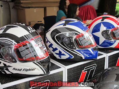 THX Helmet launching Helm NF500 model baru di Jakarta Bikers Meet 2016