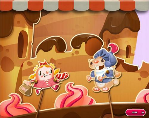 Candy Crush Saga level 2706-2720