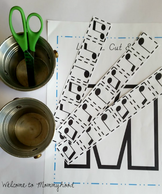 Tot Labs presents Letter of the Week:  Hands on Letter M activities by Welcome to Mommyhood, #preschoolactivities, #montessoriactivities, #montessori, #handsonlearning, #letteroftheweek, #lotw, #freeprintables