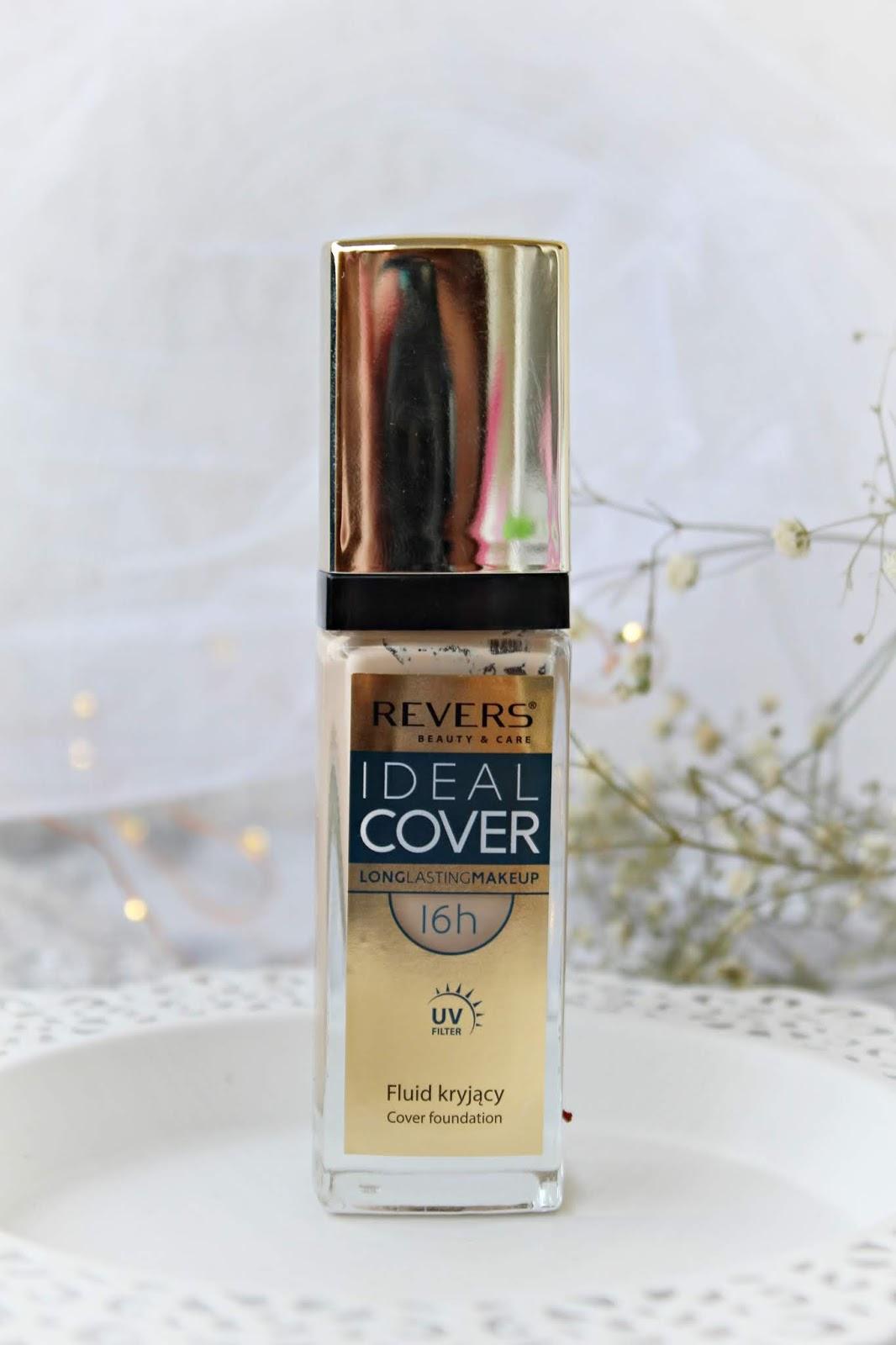 Długotrwały podkład silnie kryjący IDEAL COVER - Revers Cosmetics