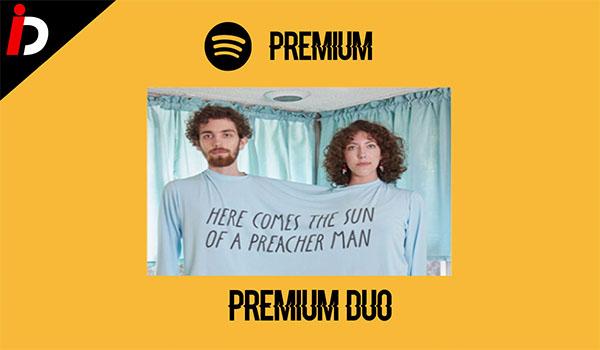 Spotify para dos Dúo suscripción Premium en pareja