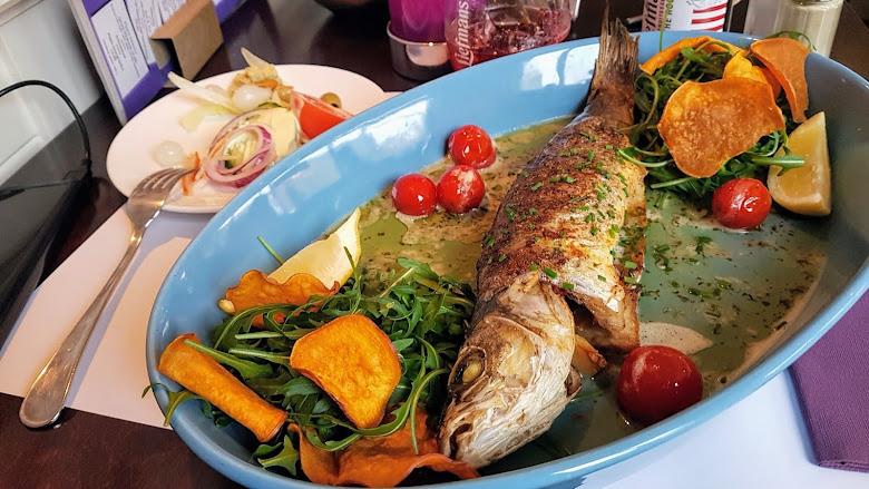 全魚大餐,好久沒有吃到整隻魚了