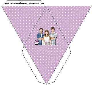 Para caja pirámide.