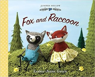In Juniper Hallow friends like to help friends out, and that's just what Raccoon does for Fox. Raccoon goes to Fox's house to play, but Fox has too many projects to do to play right away. Raccoon doesn't seem to mind at all, and quickly lends a helping hand. After each project is complete, another one starts, and Raccoon just keeps helping. When he returns to Fox's house after one errand, Raccoon can't find Fox. Where could he be? Raccoon is in for a big surprise!  #FoxAndRaccoon #NetGalley #PictureBook #ChildrensLit