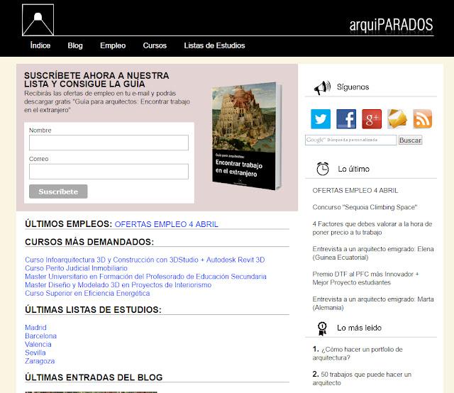 entrevista a Carlos Moreno del Blog Arquiparados