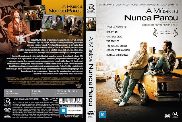 Capa DVD A Música Nunca Parou