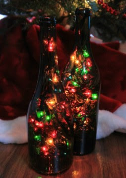Special DIY Home Decor Wine Bottle Christmas Crafts